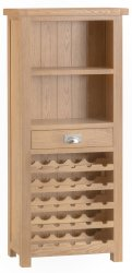 Light Oakmont Dining & Occasional Wine Cabinet