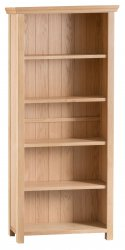 Light Warwick Dining & Occasional Large Wide Bookcase