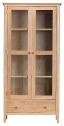 Nordby Dining & Occasional Display Cabinet with Lights