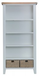 Kettering Grey Dining & Occasional Large Bookcase