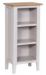 Nordby Painted Dining & Occasional Small Narrow Bookcase