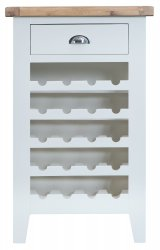 Kettering White Dining & Occasional Wine Cabinet