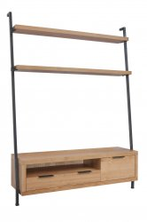 Eden Industrial Dining & Occasional TV Bookcase