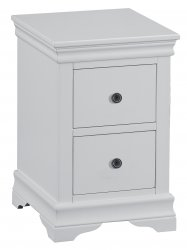 Swanley Grey Bedroom Bedside Cabinet