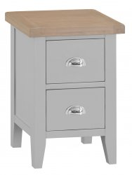 Kettering Grey Bedroom Small Bedside