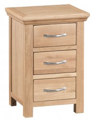 Light Warwick Bedroom Large Bedside Cabinet
