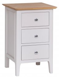 Nordby Painted Bedroom Large Bedside Cabinet