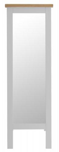 Kettering Grey Bedroom Cheval Mirror