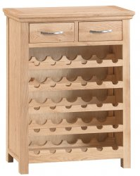 Light Warwick Dining & Occasional Wine Cabinet