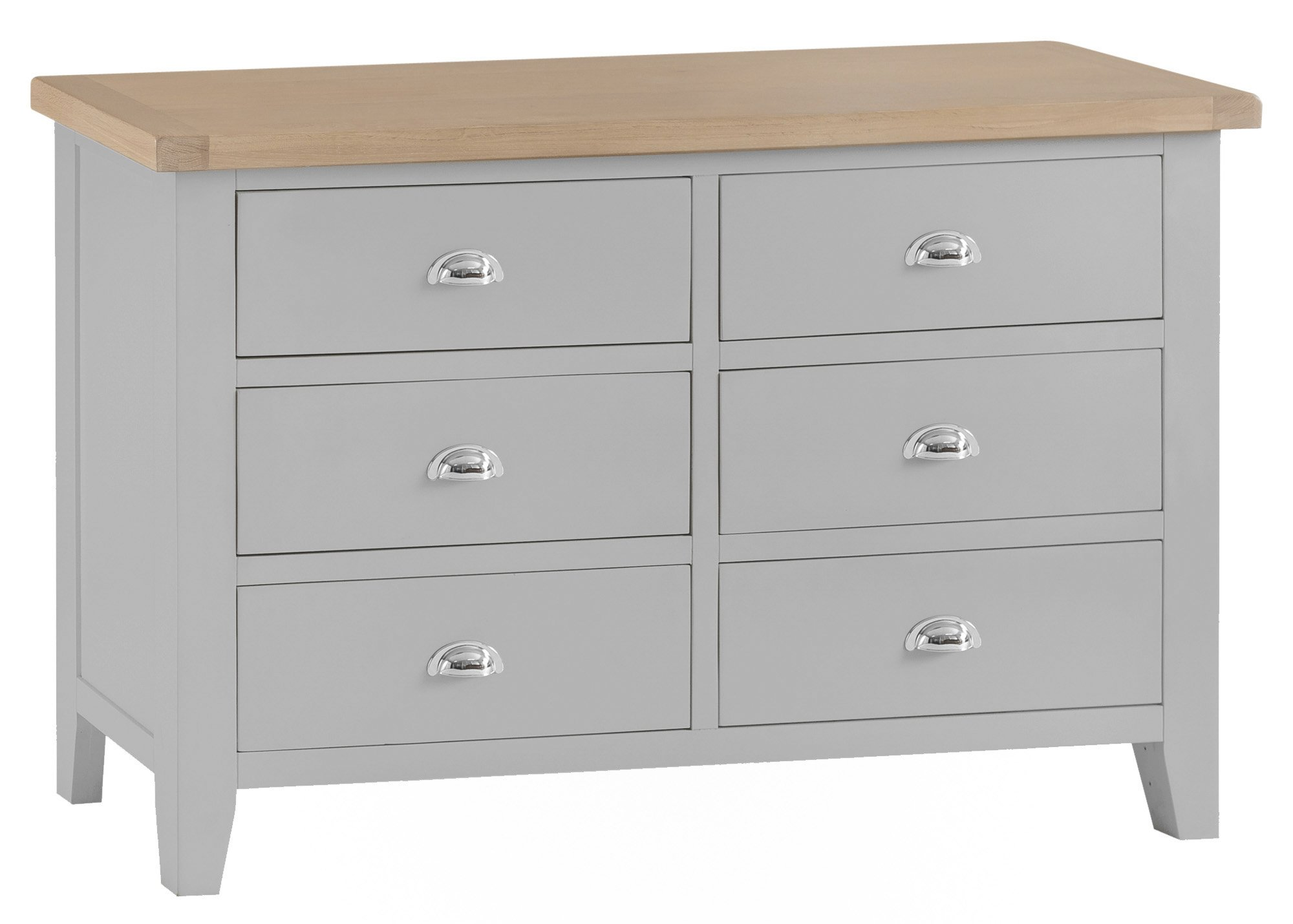 kettering grey bedroom 6 drawer chest  the clearance zone