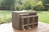 Maze Rattan Winchester 6 Rectangle Bar Set