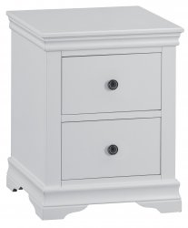 Swanley Grey Bedroom Large Bedside Cabinet