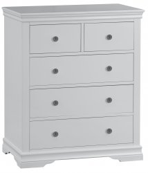 Swanley Grey Bedroom 2 Over 3 Chest