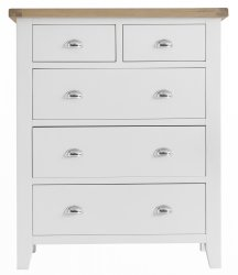 Kettering White Bedroom Jumbo 2 Over 3 Chest