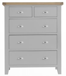 Kettering Grey Bedroom Jumbo 2 Over 3 Chest