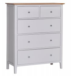 Nordby Painted Bedroom Jumbo 2 Over 3 Chest