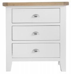 Kettering White Bedroom 3 Drawer Chest