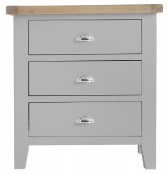 Kettering Grey Bedroom 3 Drawer Chest