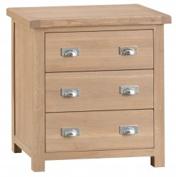 Light Oakmont Bedroom 3 Drawer Chest