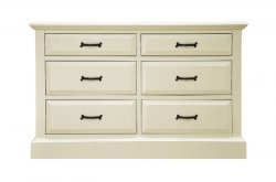 Hadlow Bedroom 6 Drawer Chest