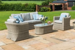 Maze Rattan Oxford 3 Seat Sofa Set