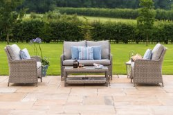 Maze Rattan Oxford High Back Sofa Set