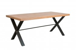 Eden Industrial Dining & Occasional 1.3m Dining Table