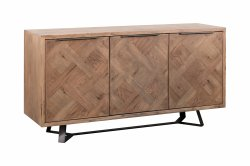 Brompton Industrial Dining & Occasional 3 Door Sideboard
