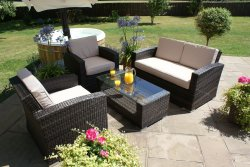 Maze Rattan Kingston 2 Seat Sofa Set