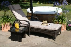 Maze Rattan - Florida Sun Lounger Set