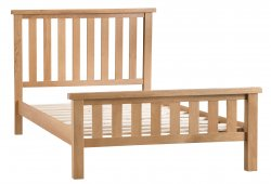Classic Oakmont Bedroom Double Bed Frame