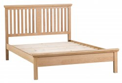 Light Warwick Bedroom Double Bed Frame