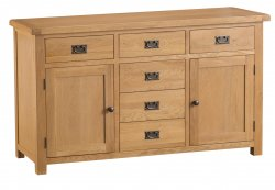 Classic Oakmont Dining & Occasional 2 Door 6 Drawer Sideboard