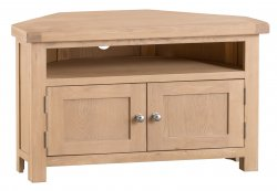 Light Oakmont Dining & Occasional Corner TV Unit