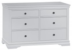 Swanley Grey Bedroom 6 Drawer Chest