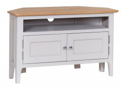 Nordby Painted Dining & Occasional Corner TV Unit