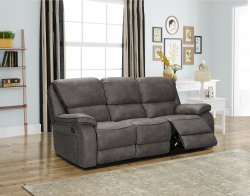 HP Collection - Monaco Reclining Sofa Range - Grey