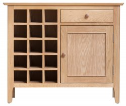 Nordby Dining & Occasional Wine Cabinet