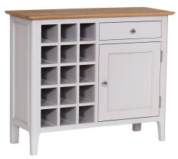 Nordby Painted Dining & Occasional Wine Cabinet