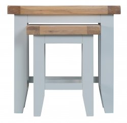 Kettering Grey Dining & Occasional Nest of 2 Tables
