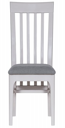 Nordby Painted Dining & Occasional Slat Back Chair with Fabric Seat