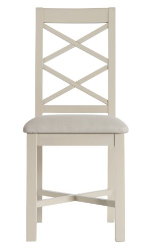 Derby Dining & Occasional Cross Back Chair with Fabric Seat