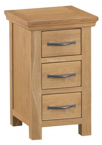 Classic Warwick Bedroom Narrow Bedside Cabinet