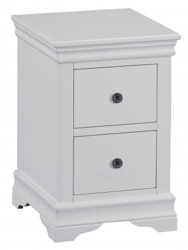 Swanley Grey Bedroom Bedside Cabinet
