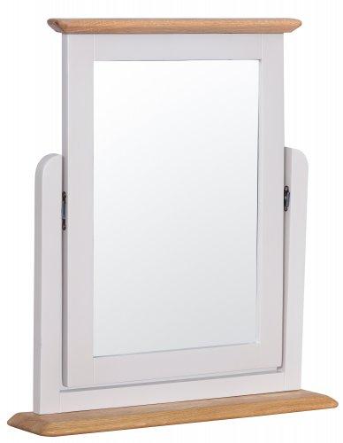 Nordby Painted Bedroom Trinket Mirror