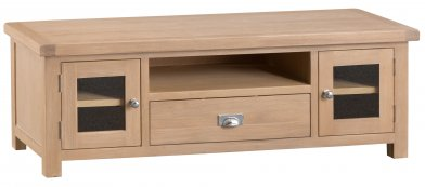 Light Oakmont Dining & Occasional Large TV Unit