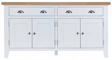 Kettering White Dining & Occasional 4 Door Sideboard