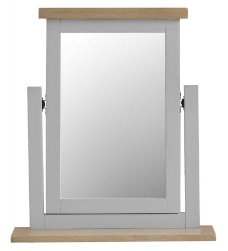 Kettering Grey Bedroom Trinket Mirror