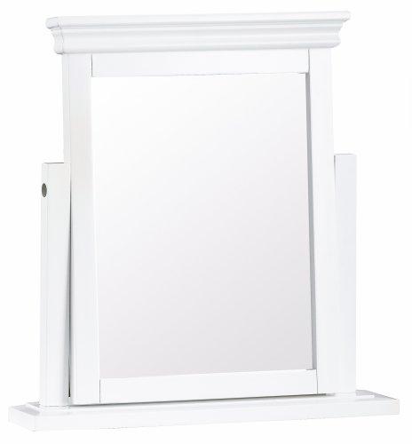 Swanley White Bedroom Trinket Mirror