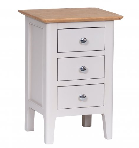 Nordby Painted Bedroom Small Bedside Cabinet